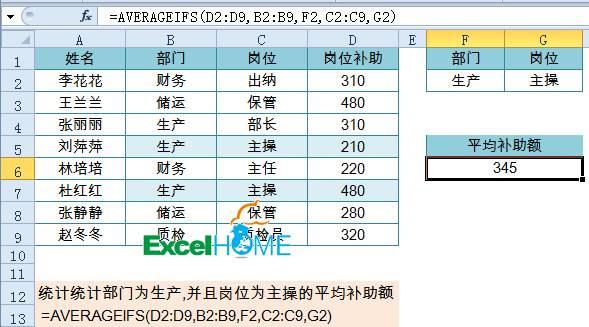多条件统计很简单,月薪起步两千三插图(5)