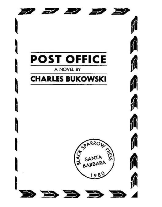 布考斯基:邮差-英文原版Post-Office——「epub」「mobi 」「azw3」「pdf」免费下载插图