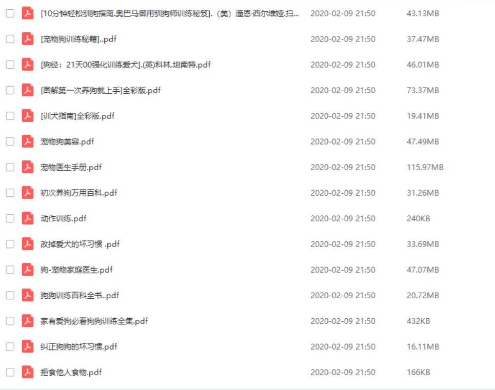 金牌训狗师手把手教你训狗视频教程,亲测有效——「epub」「mobi 」「azw3」「pdf」免费下载插图(7)